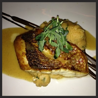 Seared snapper with lobster mashed potatoes at Catch    YELP, Courtney O.