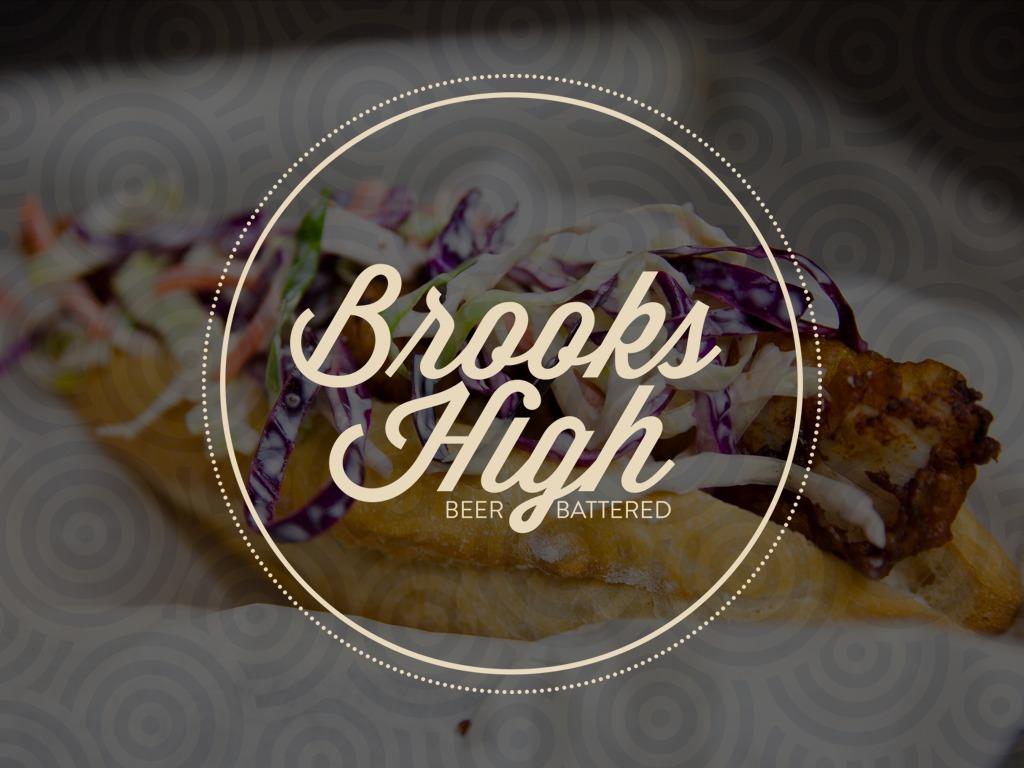 Brooks High Beer Battered  | Twitter