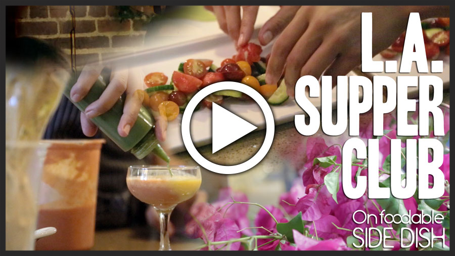 On Foodable– Side Dish: Secret Garden Dining Experience [Video]