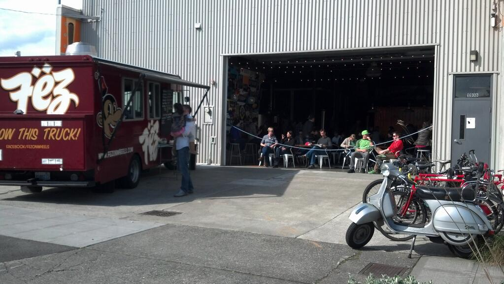 Stoup Brewing and Fez Food Truck  | Twitter