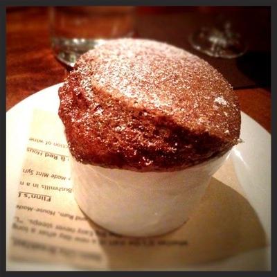 Dessert soufflé at Beckett's Table | YELP, J N.