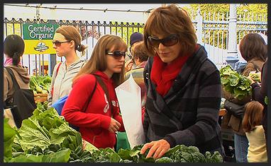 Nora at the Market