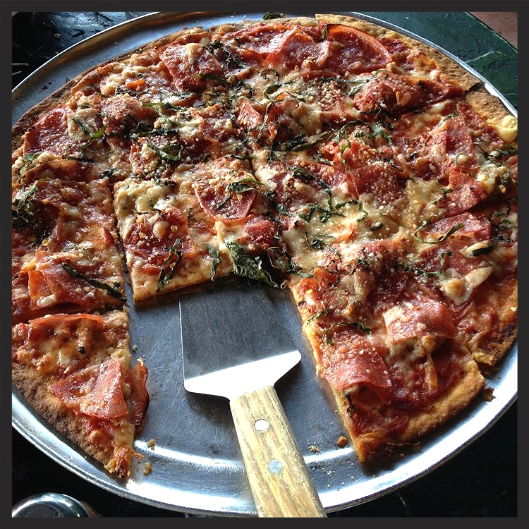 Clark Street Meat Pizza from Oregano's Pizza Bistro  | Yelp, Lorie N.