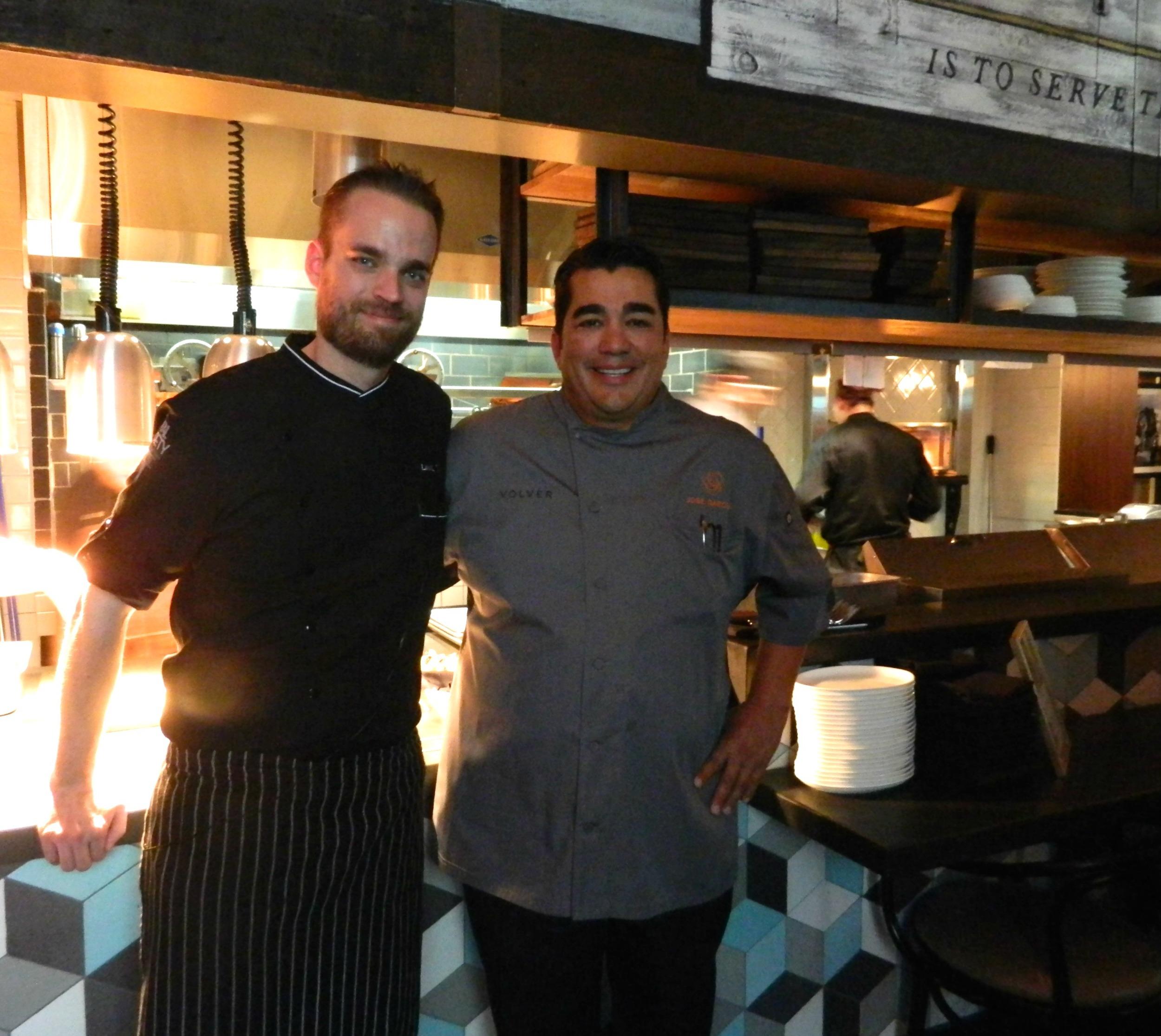 Chef Goral & Jose Garces  | Courtesy of Rural Society