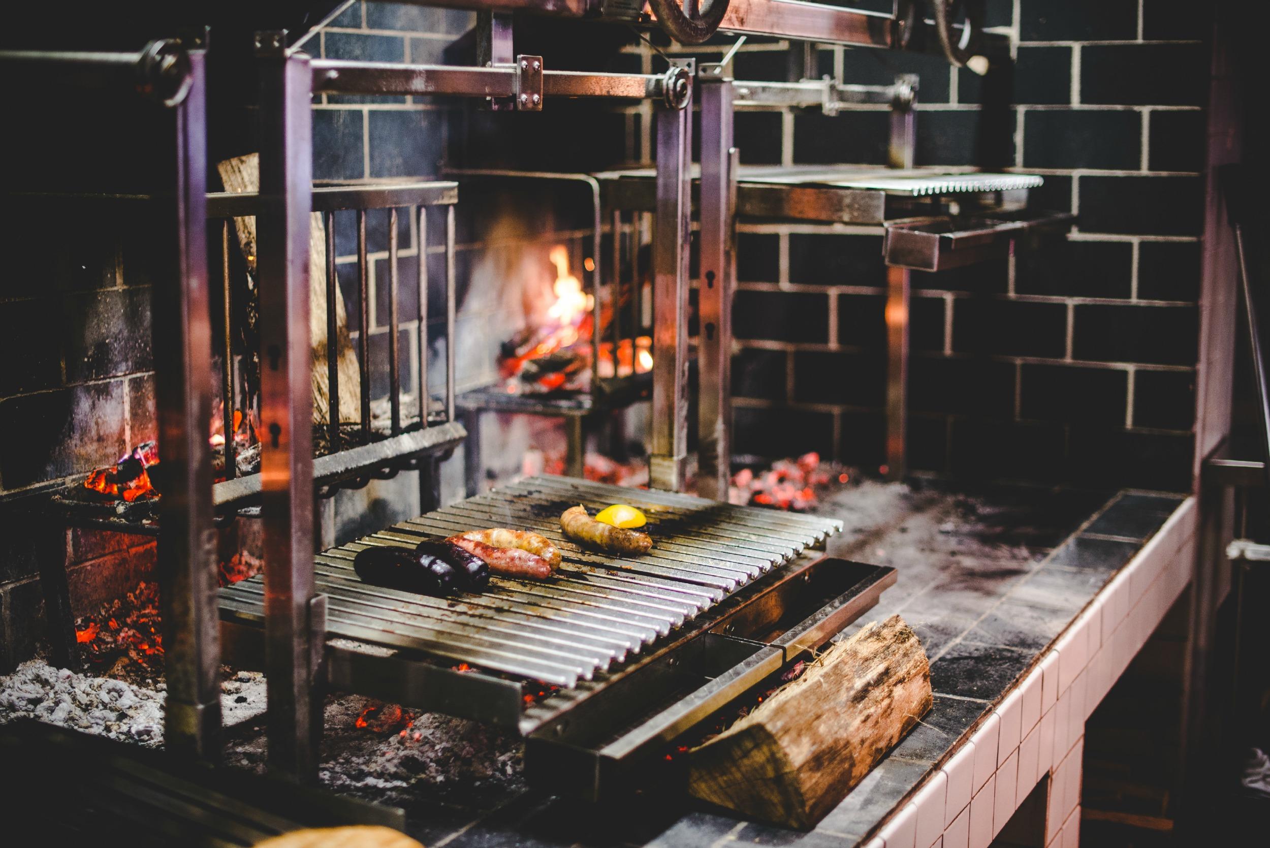 The parilla-style grill at Rural Society  | Courtesy of Rural Society