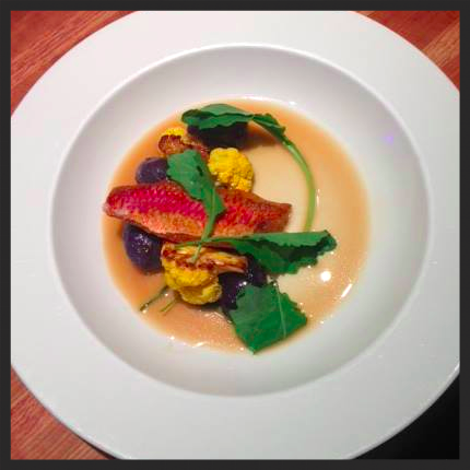 Rouget, ham broth, purple potato and cauliflower | Facebook, Lucia
