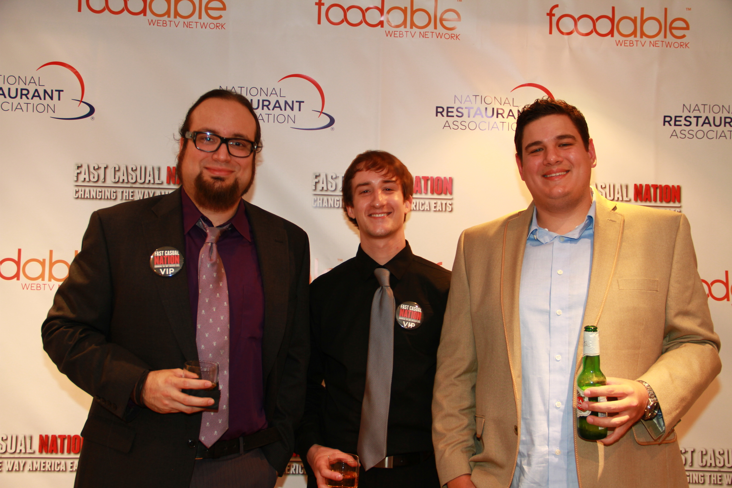Foodable Video Editor Carlos J. Ruiz, Sound Engineer Steve Zimmerman & Director of Photography Nathan Mikita