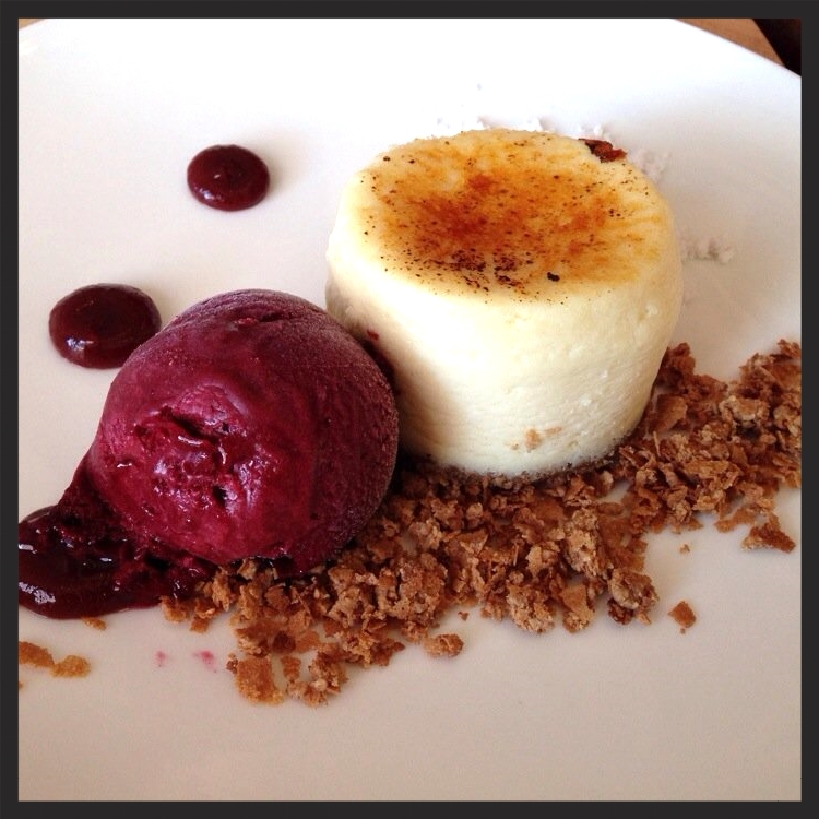 Peanut butter + jelly ice cream cheesecake at Seasalt | Yelp, Gennaro C.