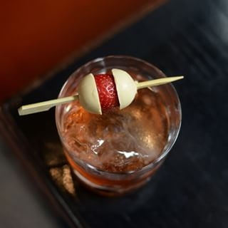 Old Foie'Shioned at Pabu    Instagram, JustCocktails
