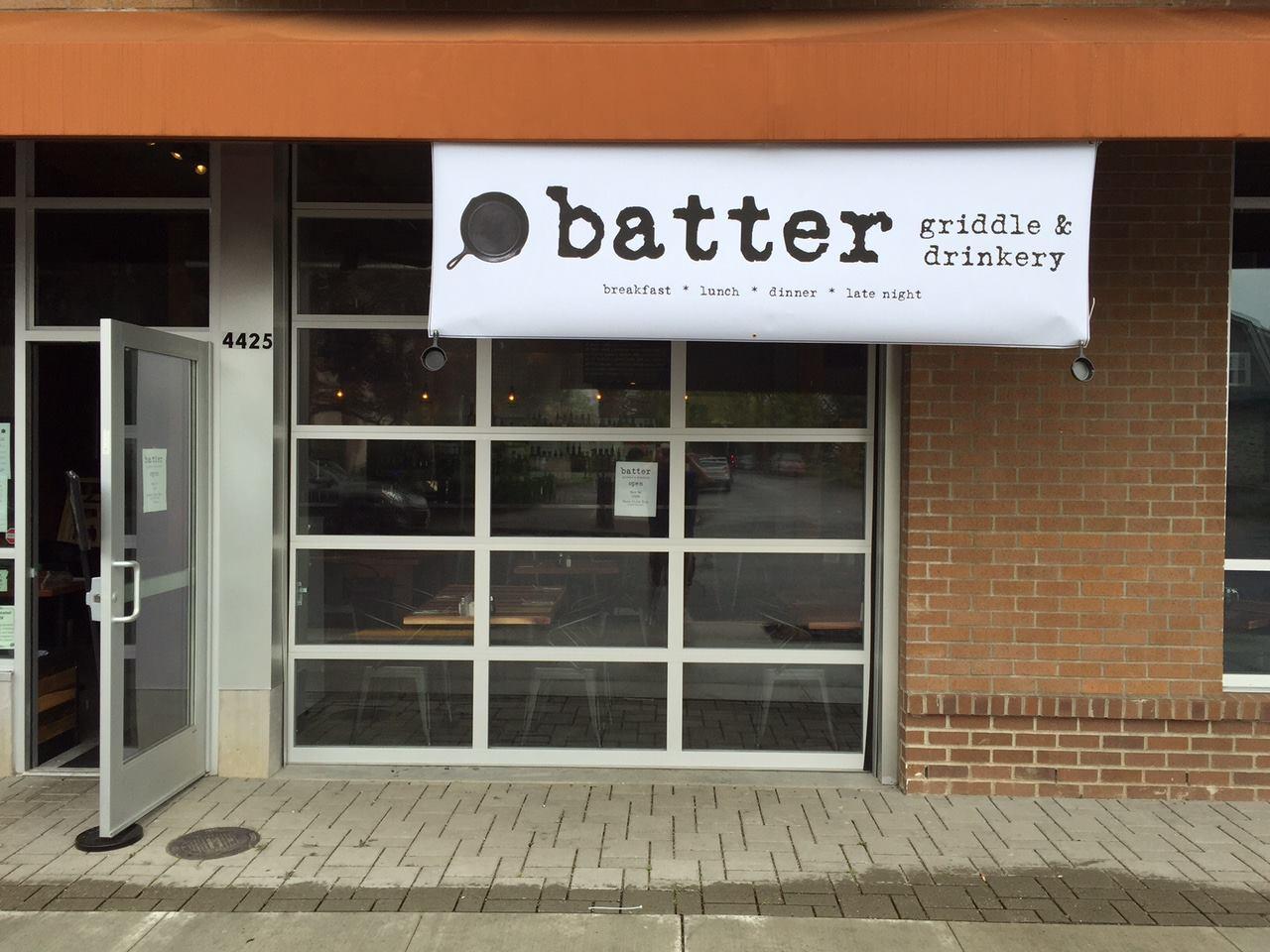 Batter Griddle and Drinkery  | Facebook