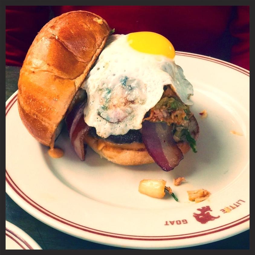 Korean Goat Burger, Little Goat Diner | Yelp, Eric J.