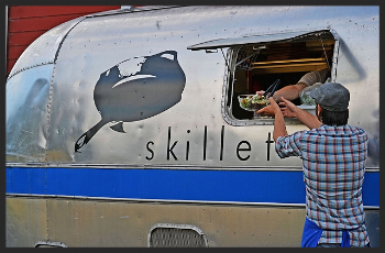 Skillet Street Food's Classic Airstream Truck  | Courtesy of Skillet Street Food