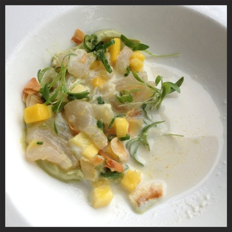 Red Snapper Ceviche at Fond  | Yelp, Tania D.