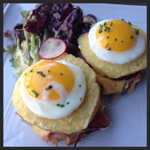 Croque Monsieur at Bistro 82  | Yelp, Isabella W.
