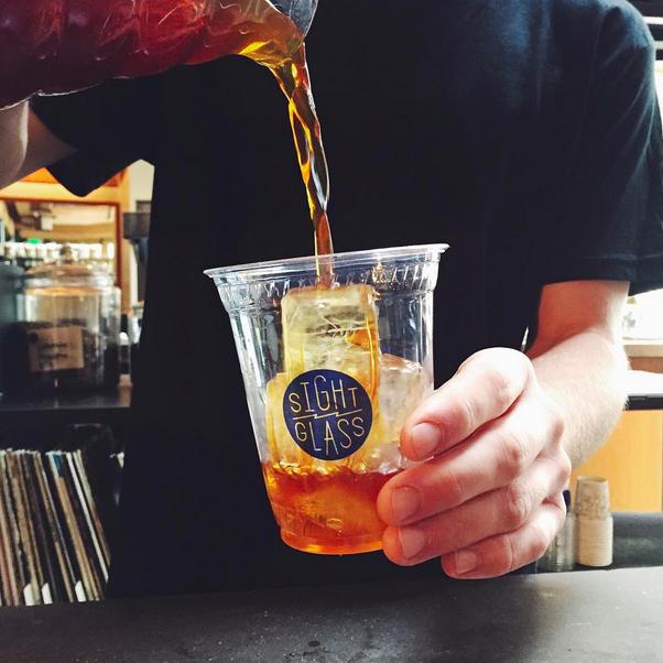Iced Coffee at Sightglass  | Credit: Instagram, @sightglass