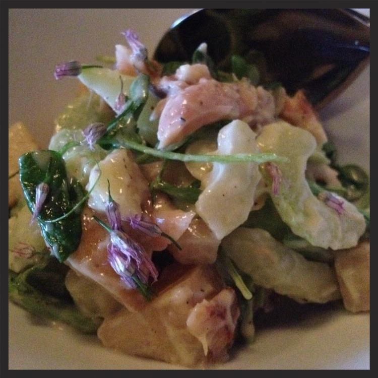 Klug Farms Asparagus Salad  at TWO } Yelp, Candice G.