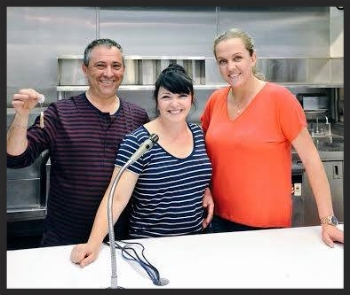Stan Mayzalis, Angie Corrente and Chef Kristina Miksyte    Facebook, Doma Kitchen