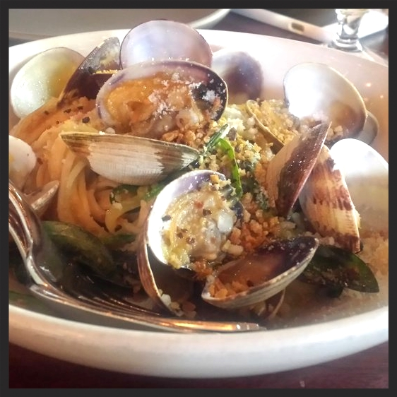 Linguine with clams at Ava Geene's  | Yelp, Amanda L.