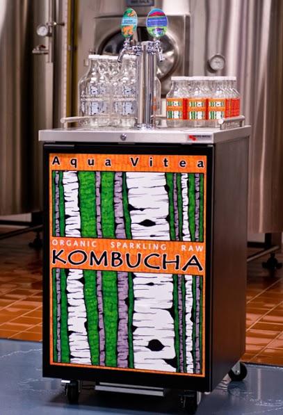 Aqua Vitea kombucha fountain  | Credit: Aqua Vitea
