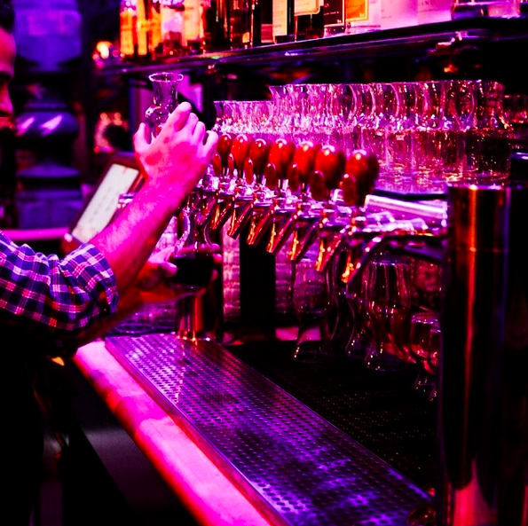 Wine on tap at the Beat Hotel  | Credit: Instagram @beathotel13