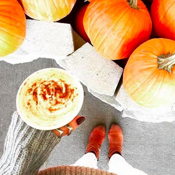 Pumpkin Spice Latte    Credit: Instagram, @starbucks