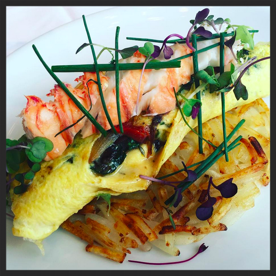 Lobster omelette at MC Kitchen  | Instagram, @mckitchenmiami