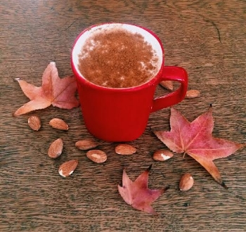 Spiced Almond MIlk  | Credit: Chomp Eatery and Juice Station