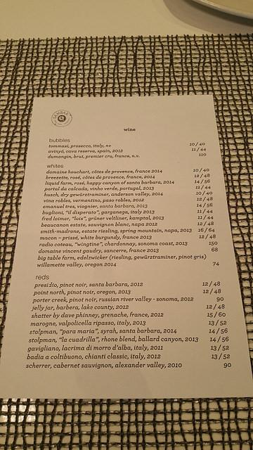 Sambar's Wine List    Allison Levine for FoodableTV