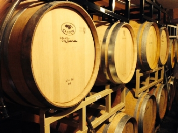 Urban Winery Barrel Room  | Photo Courtesy Viscon Cellars