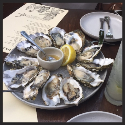 Oysters at Hatchet Hall  | Yelp, Manijeh S.