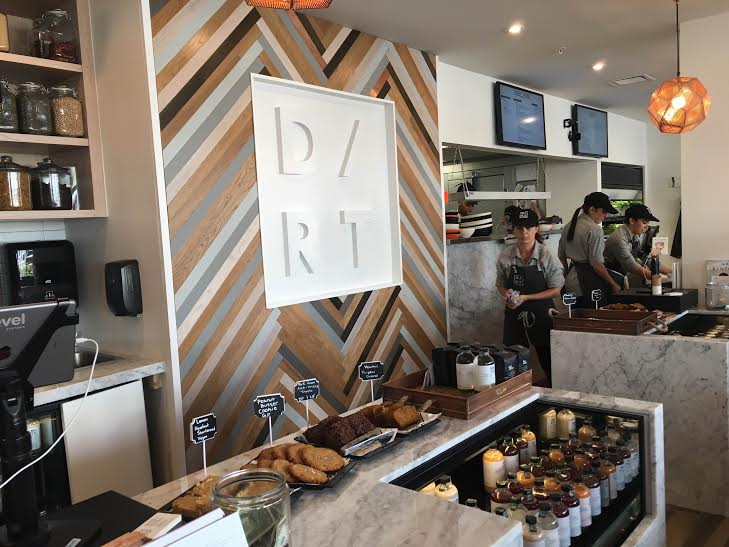 Inside Dirt, a new healthy concept located on South Beach  |  Kerri Adams for Foodable WebTV Network