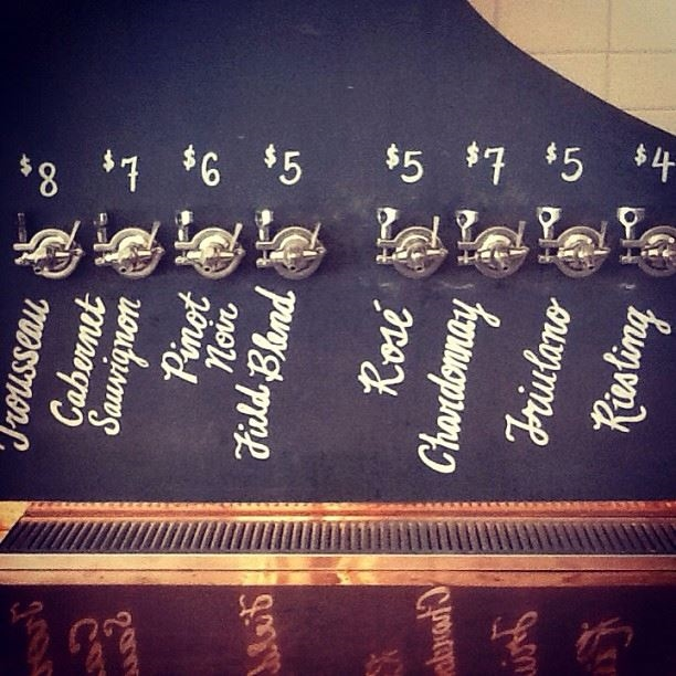 Wine on Tap at Ordinaire  | Facebook