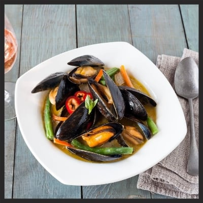 Steamed Mussels from Taylor Shelfish  | Facebook