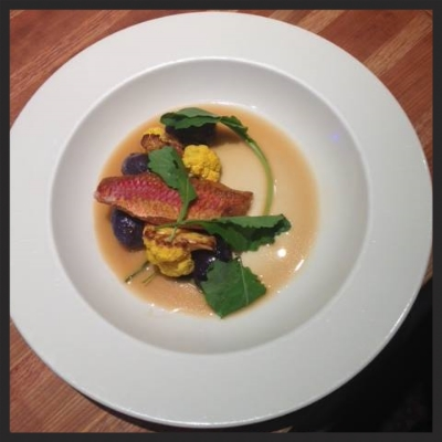 Rouget With Ham Broth at Lucia    Facebook