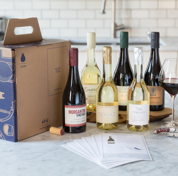 Blue Apron also offers a wine delivery program to complement meals  | Instagram @blueapron