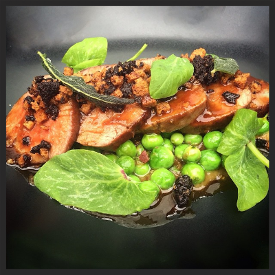 Lamb and Peas at Ataula  | Facebook