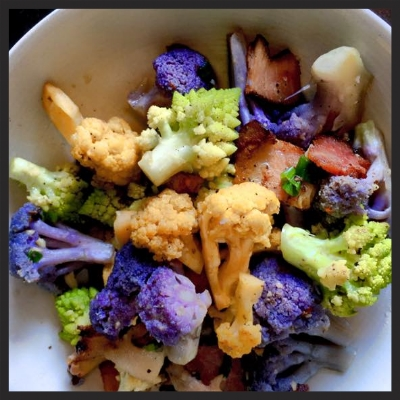 Mixed Cauliflower at Slanted Door  | Facebook