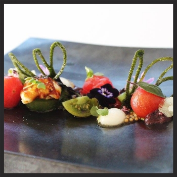 Cherry Tomato Salad at Spago  | Facebook