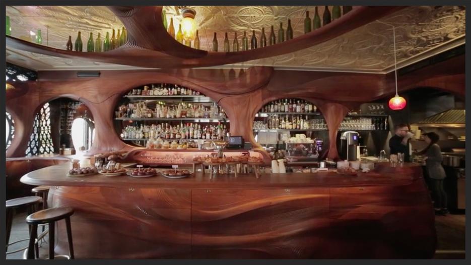 Bar Raval interior