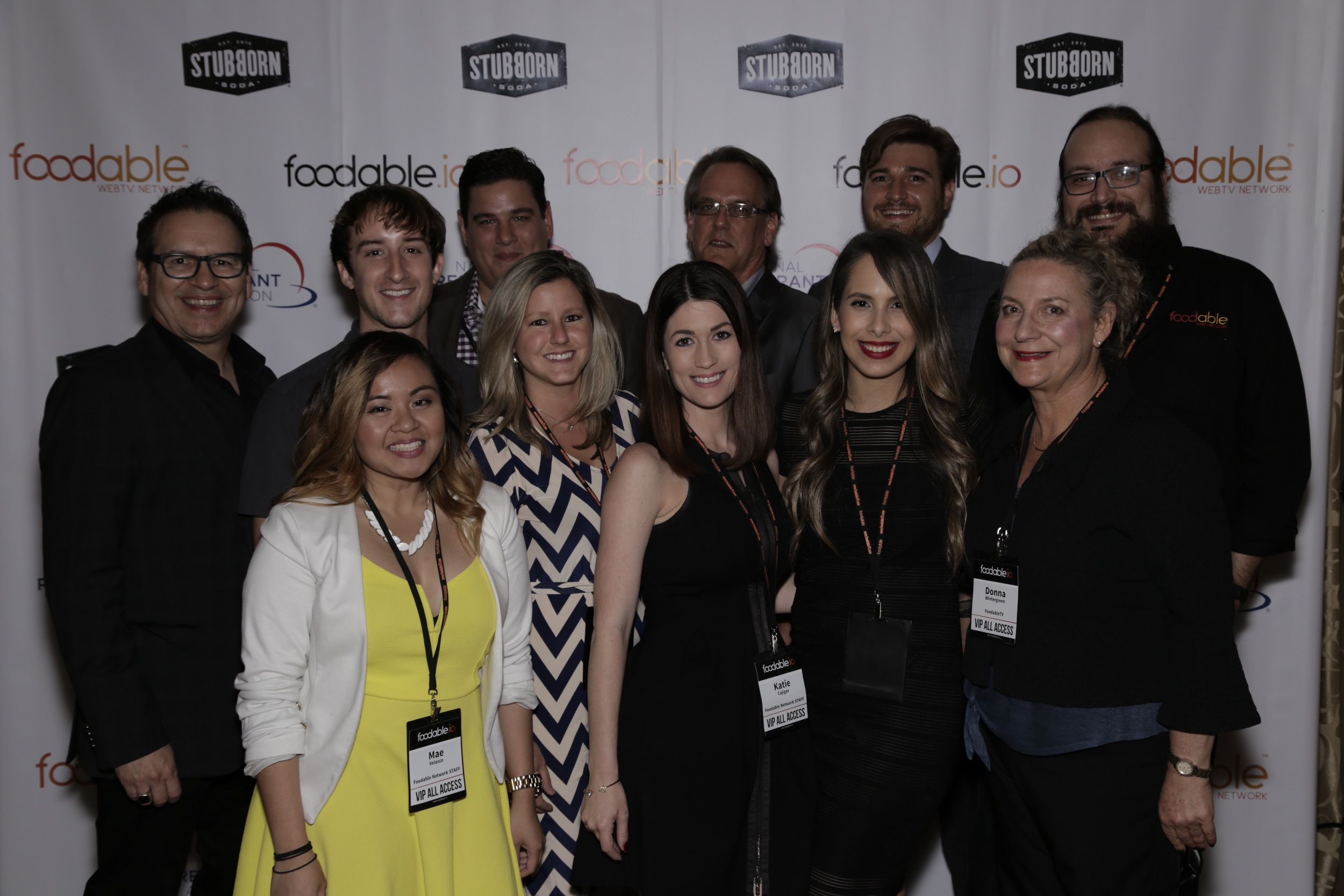 Some of the Foodable Network team