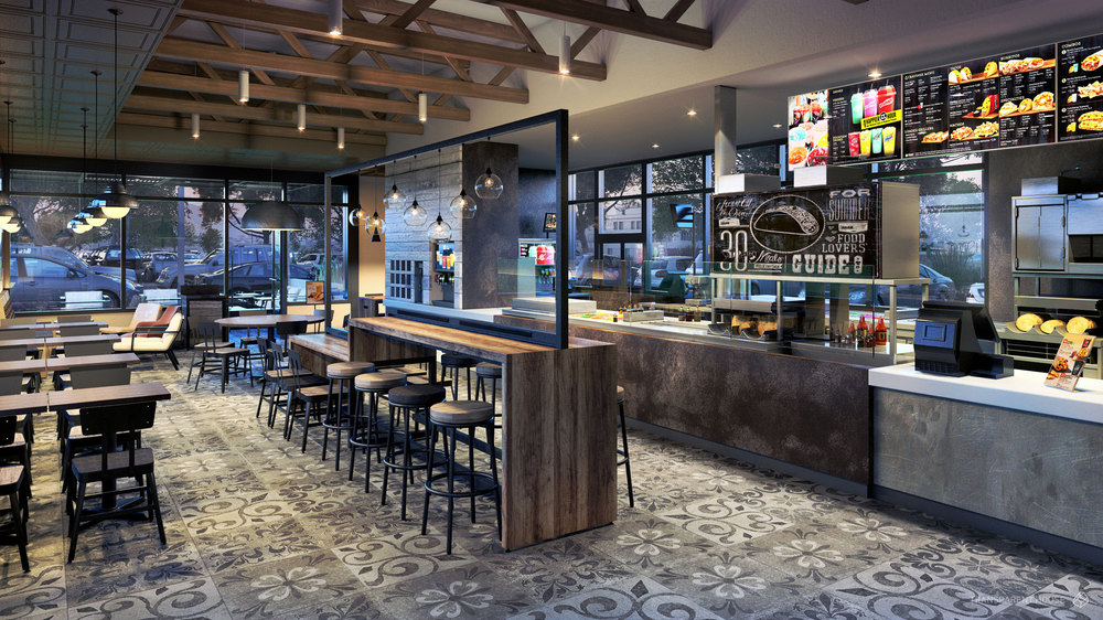 Taco Bell Channels The Fast Casual Atmosphere With Re Design