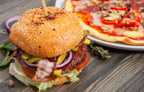 Craft pizza and burgers