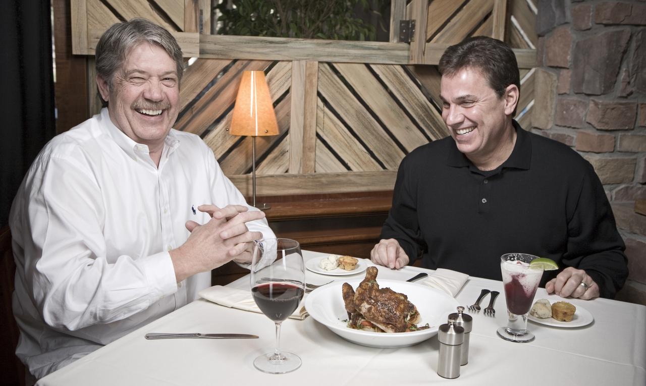 Larry Foles and Guy Villavaso | Wes Johnson/The Arizona Republic
