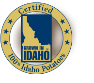 This recipe is made with Certified Idaho Potatoes.