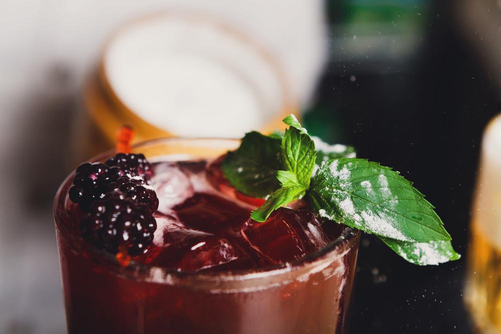 Sweet Raspberry Cocktail