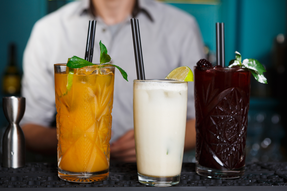 Non-alcoholic party cocktails