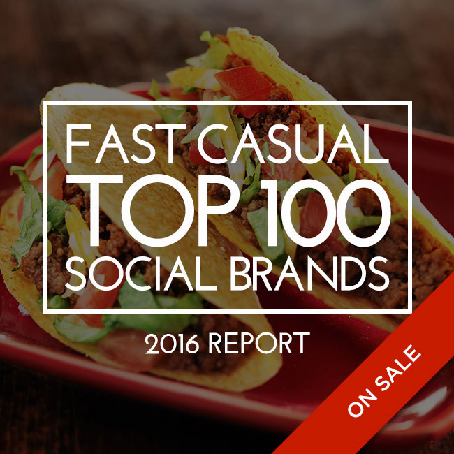 Fast Casual Top 100 Social Brands 2016 Report
