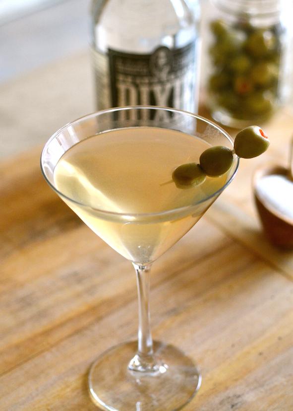 The Salt & Pepper Martini |  Dixie Vodka
