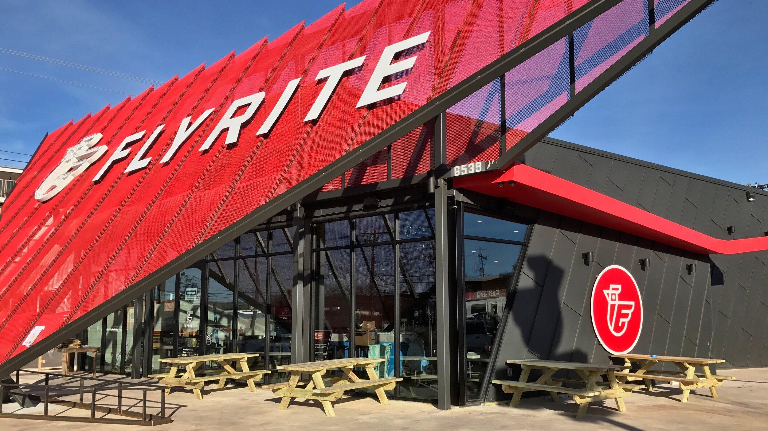 Exterior of FlyRite |  Flyrite Chicken