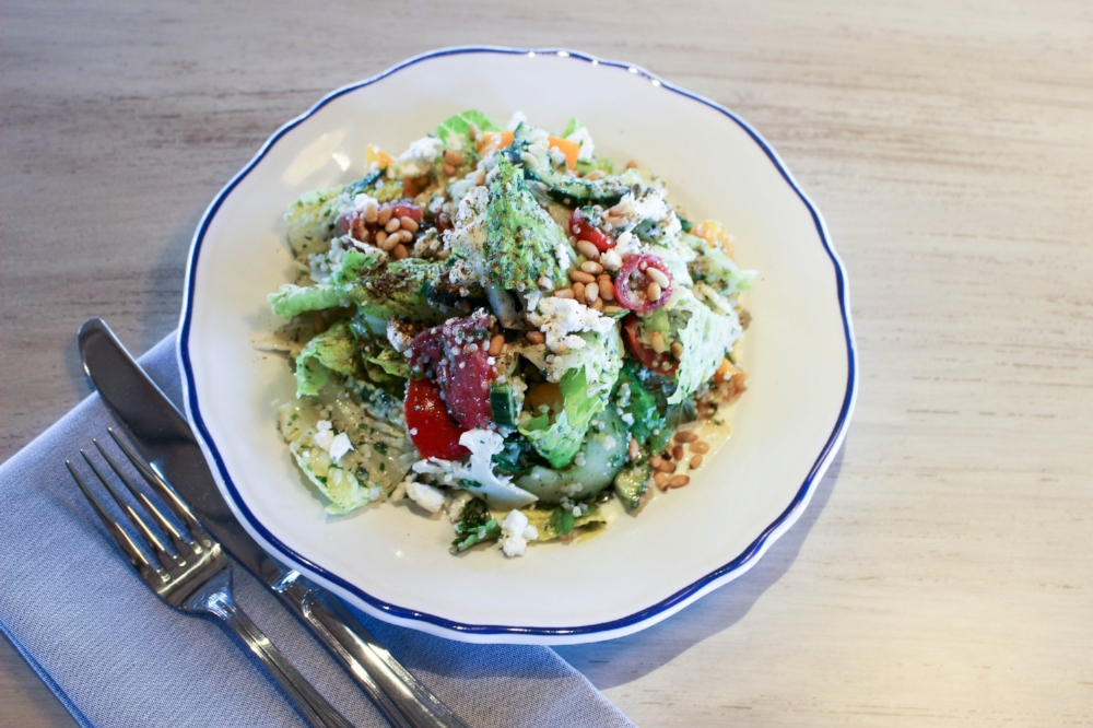 Heirloom tomatoes and quinoa    AMAES PHOTOGRAPHY